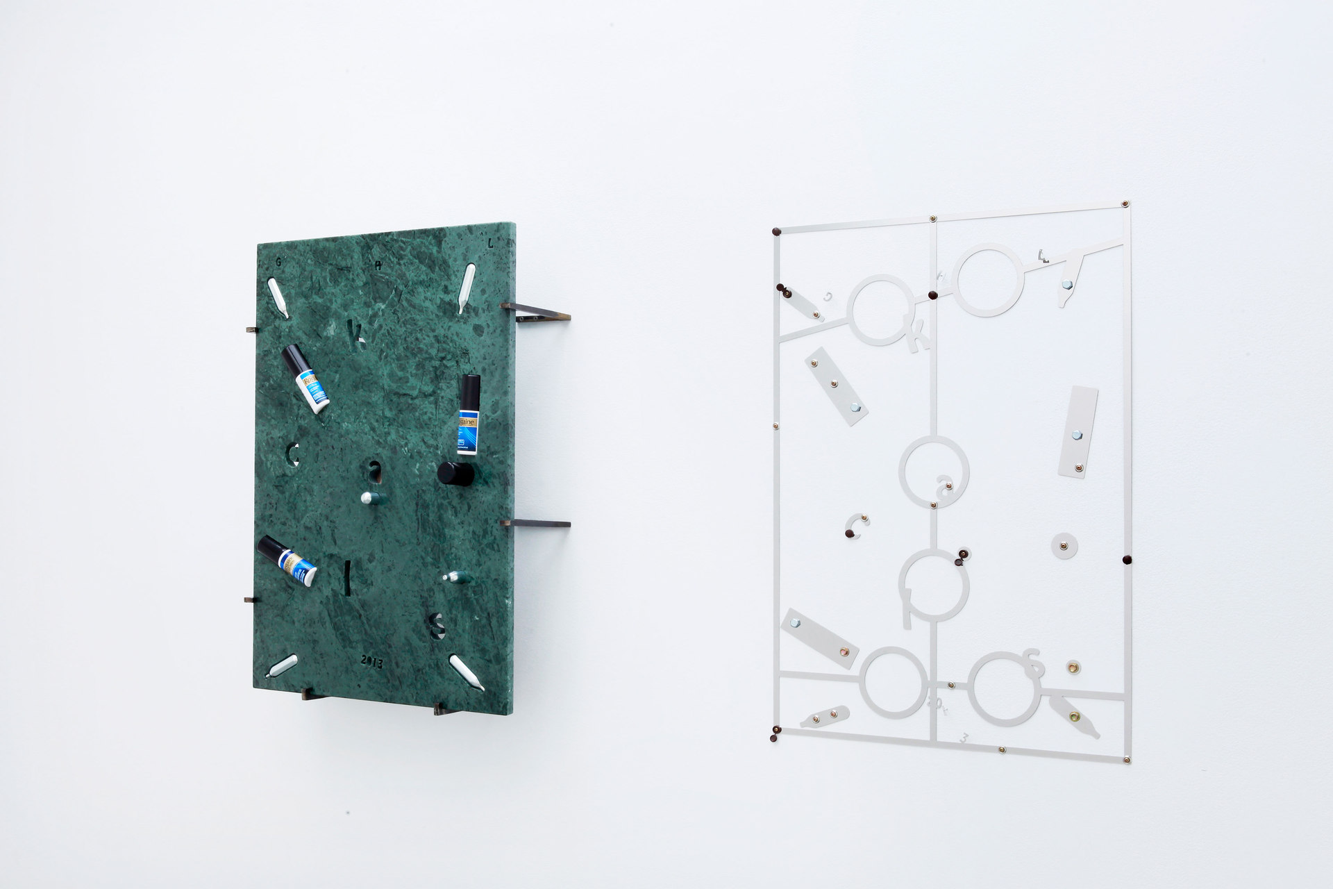 George Henry Longly: Year of the Snake, 2013 & Calorie Counter (Weight Watchers), 2013, Cell Project Space