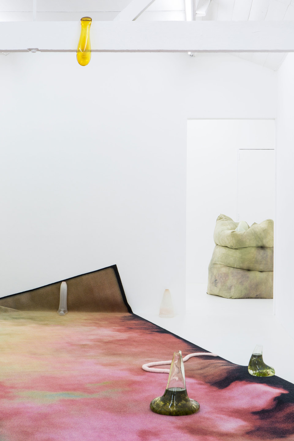 Julia Crabtree & William Evans, Gullet, 2017, Installation View, Cell Project Space