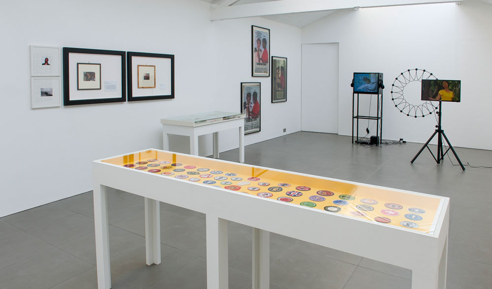 Pre Owned: Looks Good Man, Installation view, Cell Project Space 2014