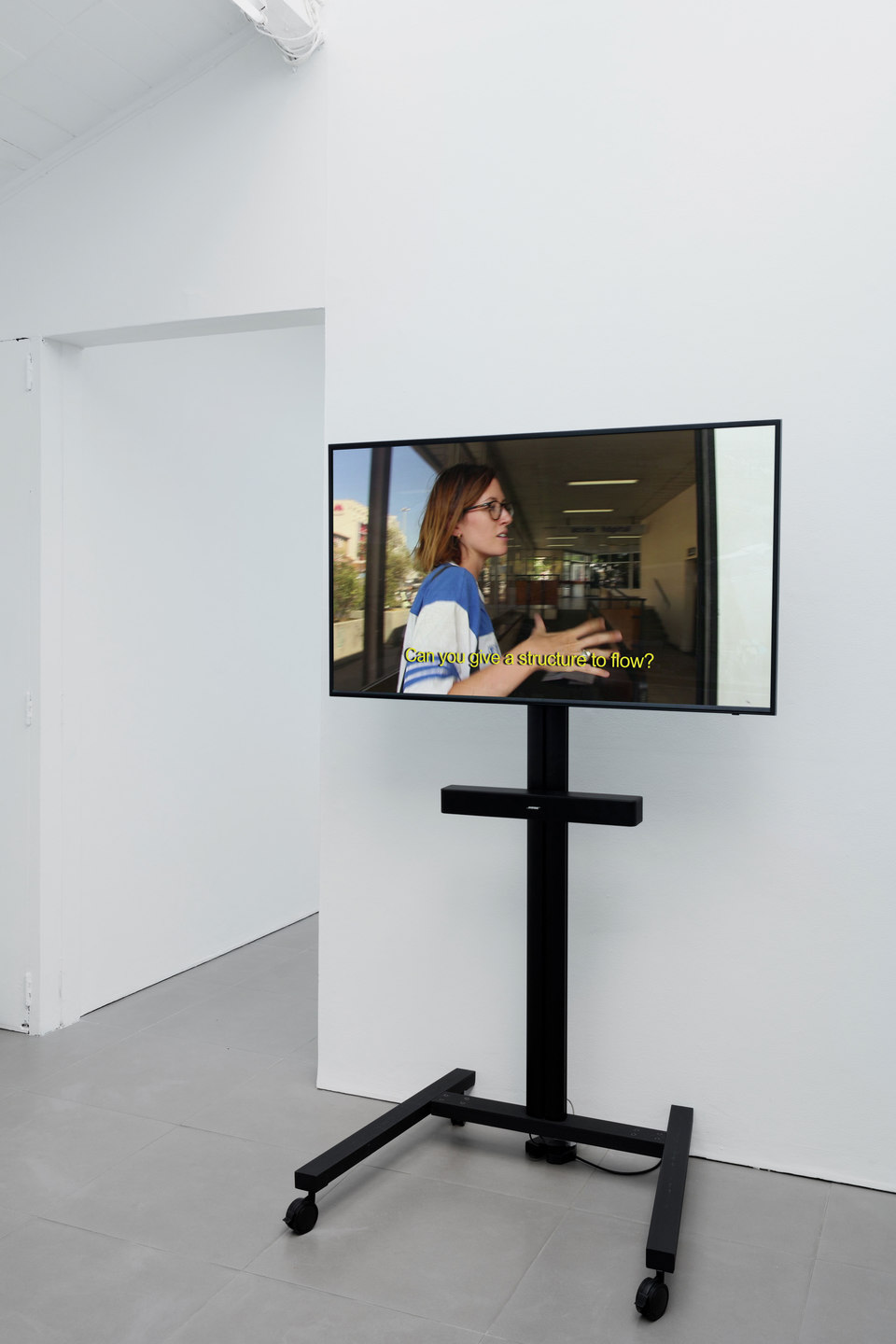 Camilla Wills, Channels, 2015, digital HD video, 3:26 mins, Cell Project Space