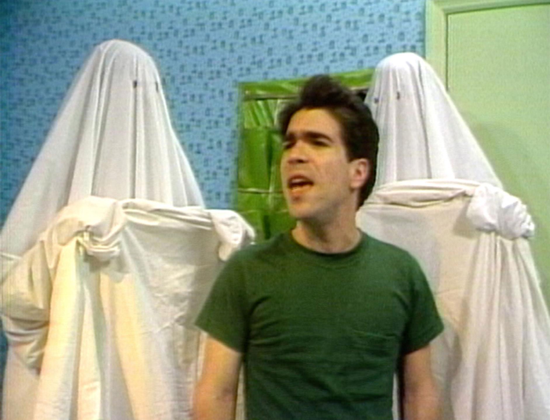 Michael Smith, Secret Horror, still from video, 1980, colour video 4:3, duration 13 mins 24 secs