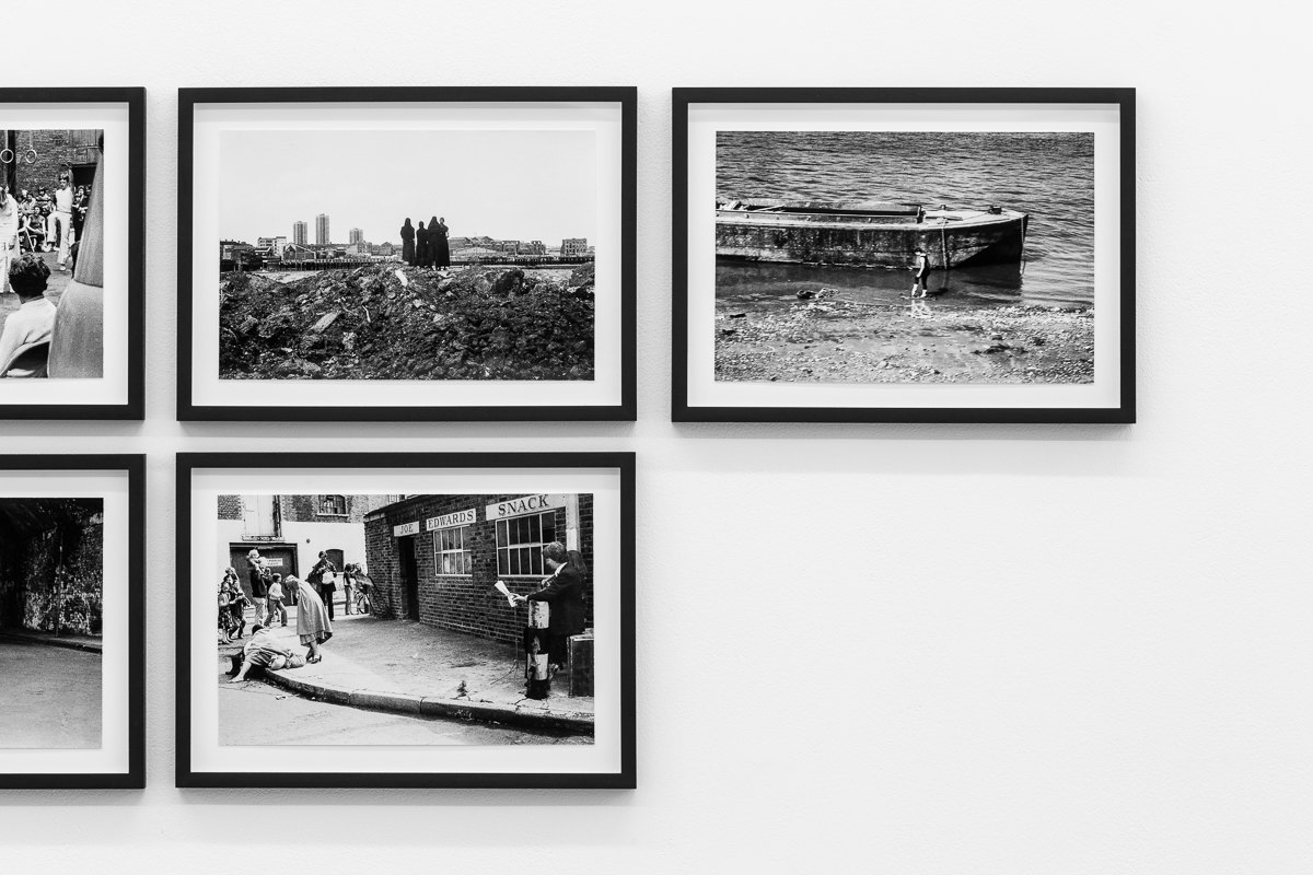 'By River and Wharf', 1976, Framed c-prints, photographs by Geoff White 35.5cm x 26cm, X6 Dance Space (1976-80): Liberation Notes, 2020, Cell Project Space