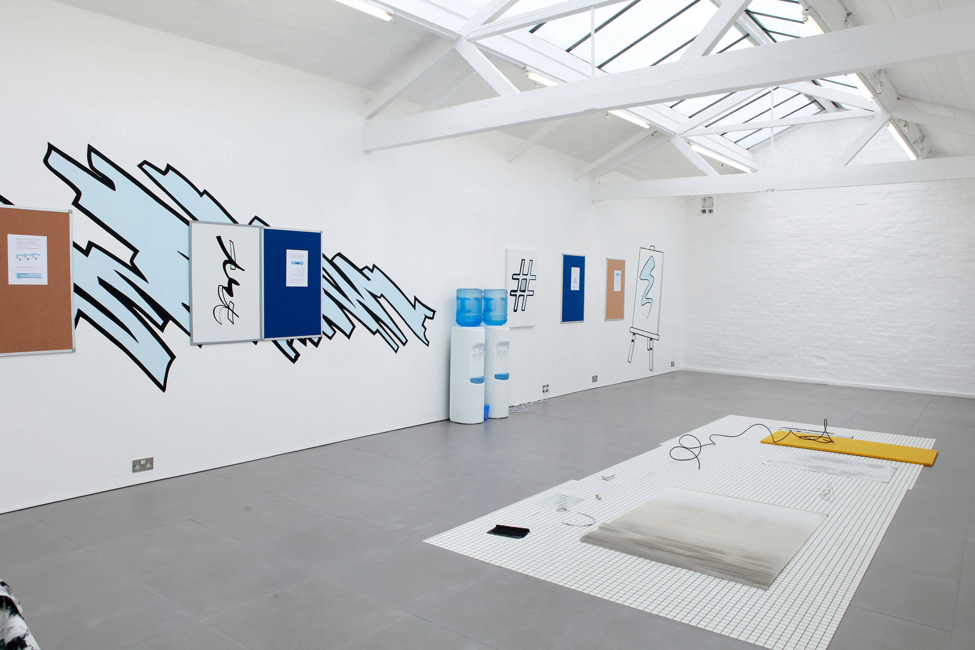 Managing Bounces, Installation shot, 2013