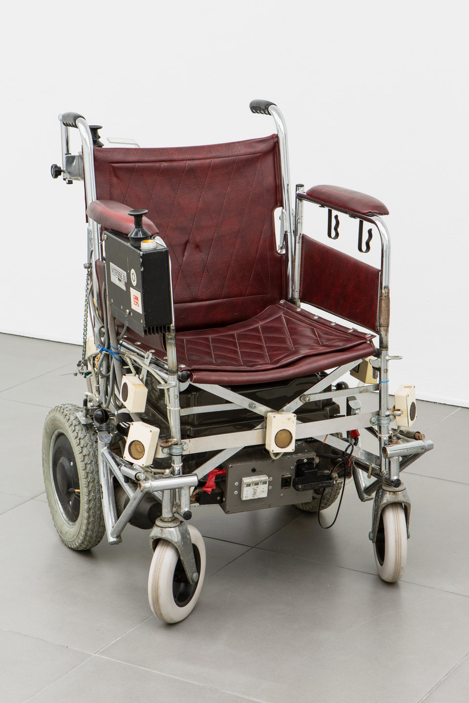 Donald Rodney, 'Psalms', 1997, Wheelchair, computer, proximity sensors, 95 x 65 x 70cm, Civic Duty, 2019, Cell Project Space