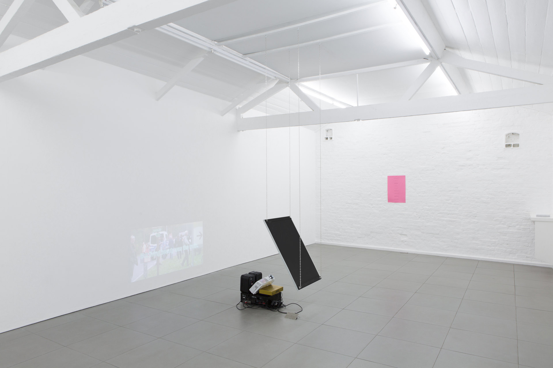 Perverts, installation view, 2017, Cell Project Space