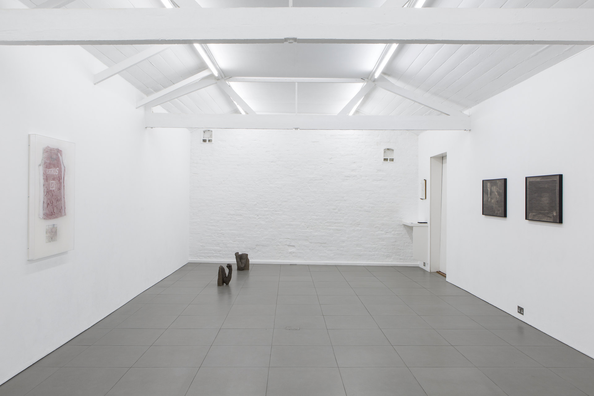 No, No, No, No Installation View, 2018, Cell Project Space