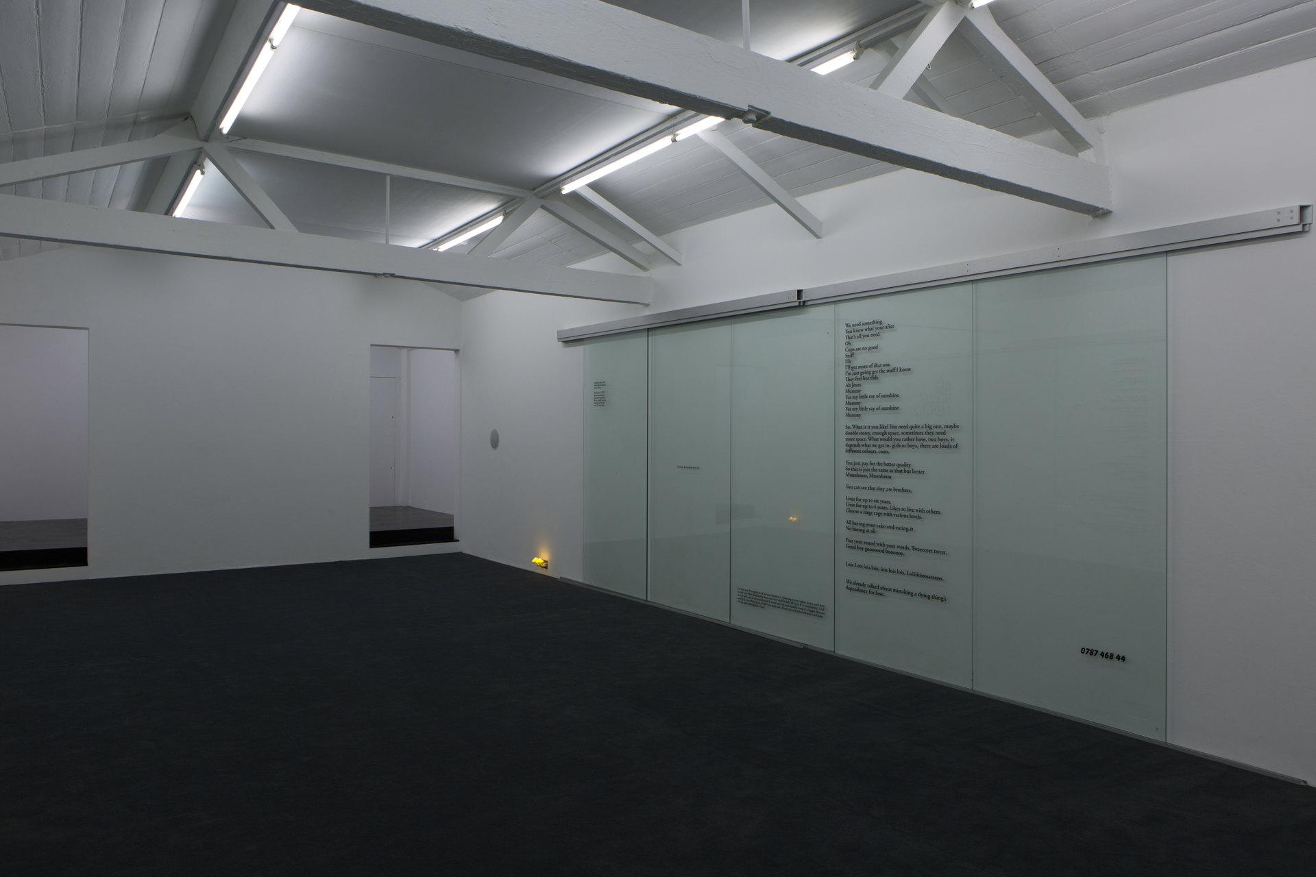 Saskia / Libs / Roundabout / Kind / Thirteen, 2016, Ghislaine Leung, Cell Project Space