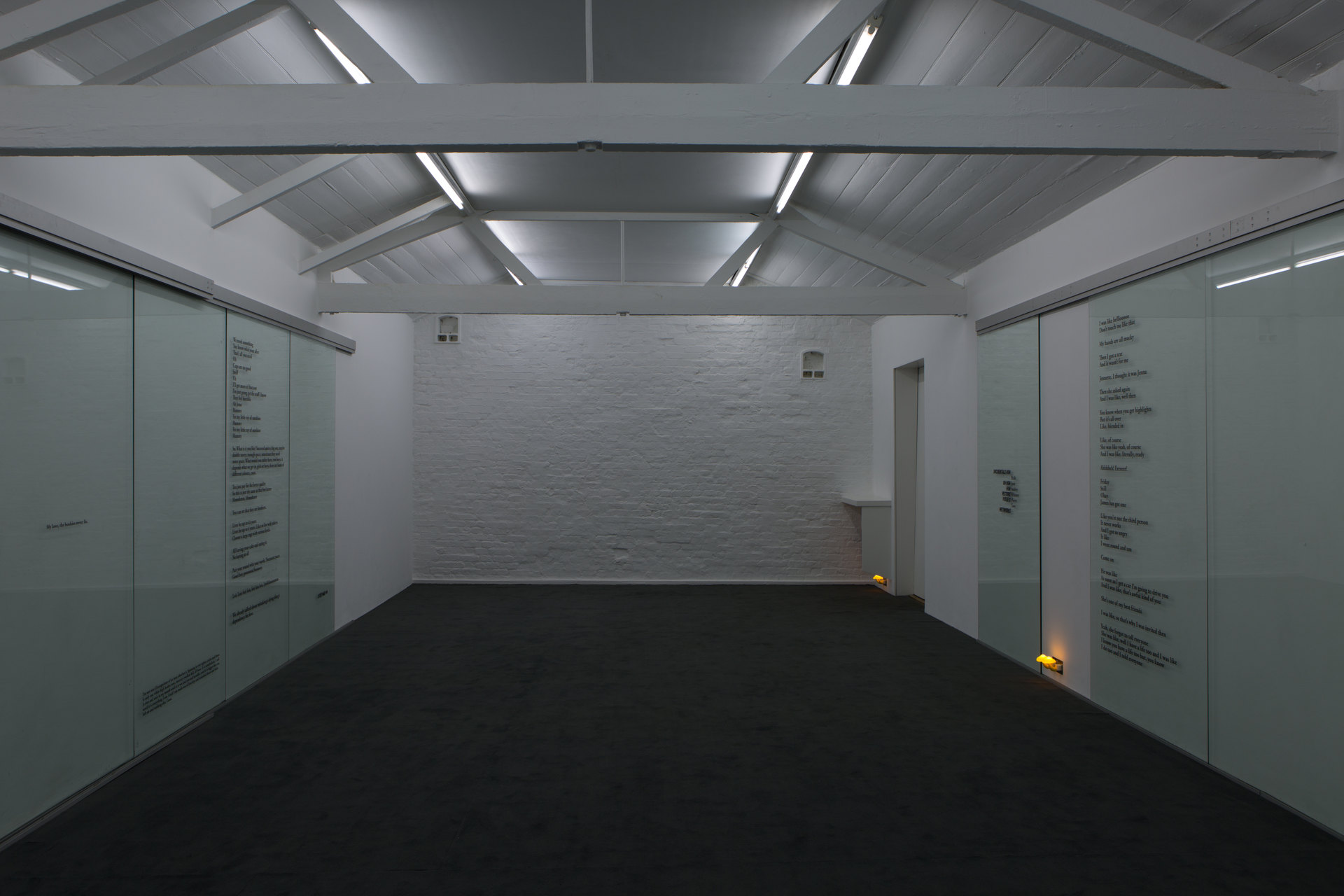 Ghislaine Leung, The Moves, Installation View, 2017, Cell Project Space