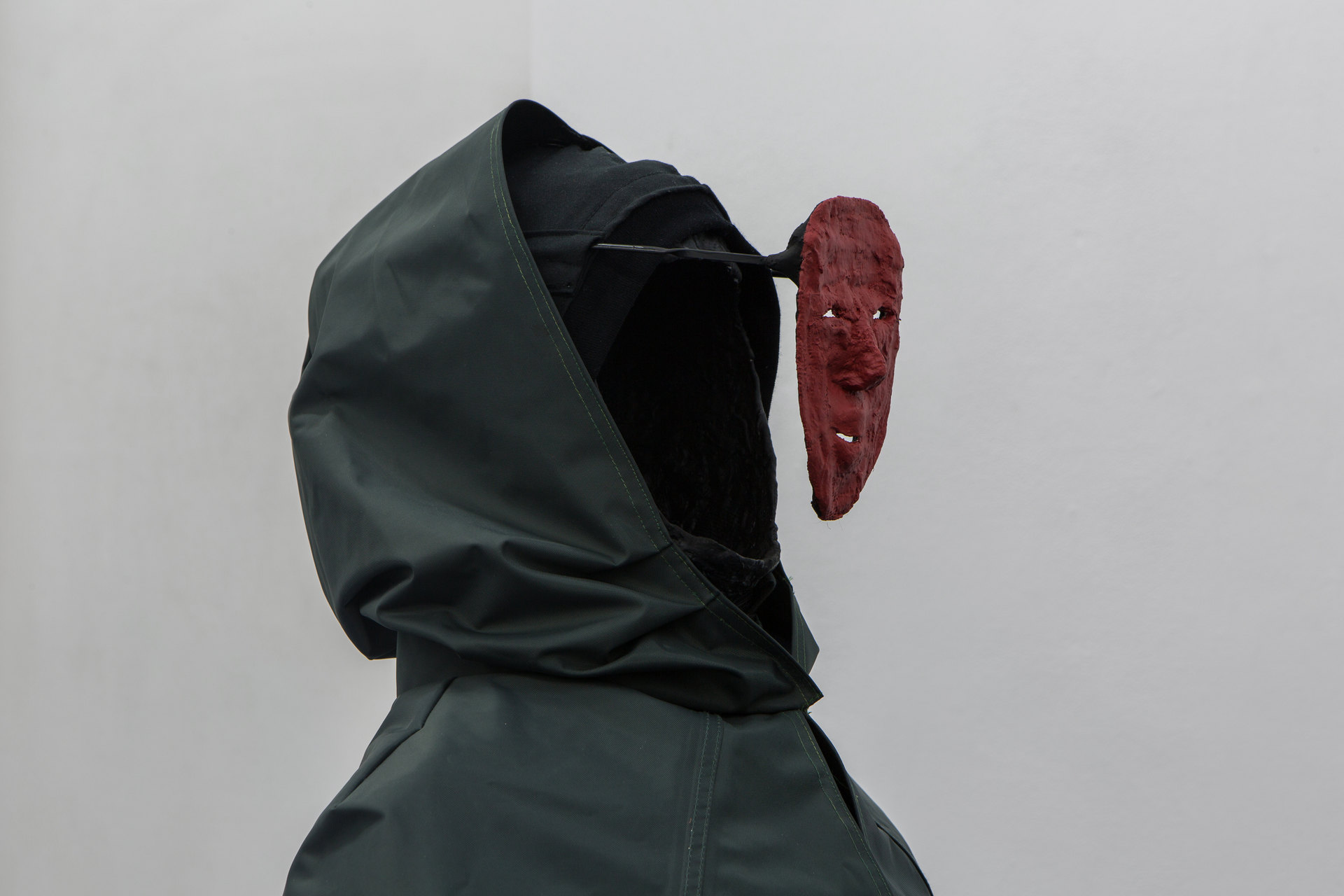 Angharad Williams and Mathis Gasser, 'Joker' (detail), 2018, Hergest:Nant, Cell Project Space