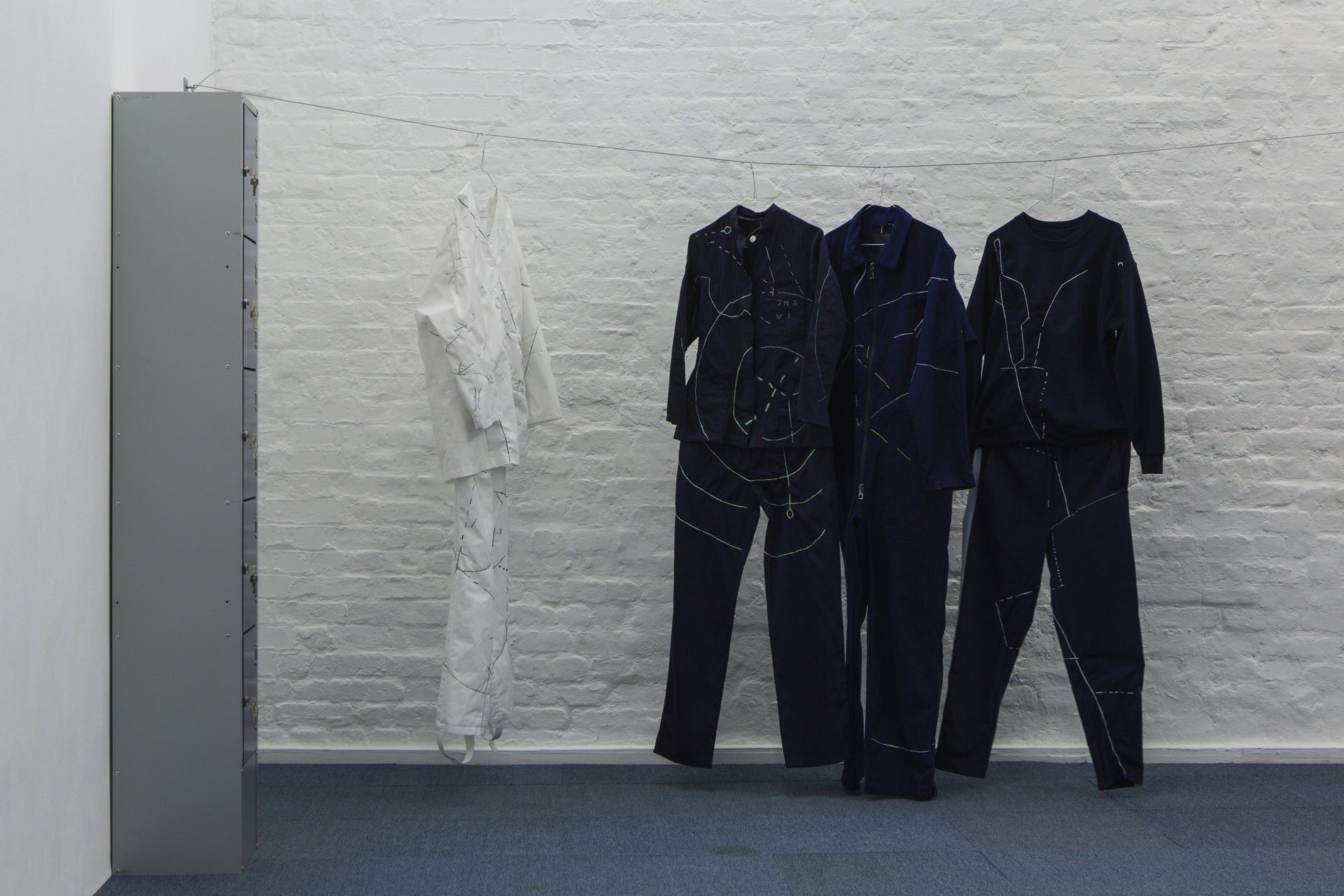 Angharad Williams and Mathis Gasser, 'Navigator Suits', 2018, Hergest:Nant, Cell Project Space