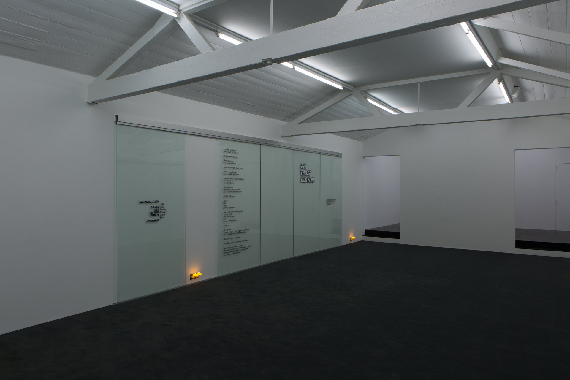 Name / Vectors / Lovers Writs / Sticks / Ours and Mine, 2016, Ghislaine Leung, Cell Project Space