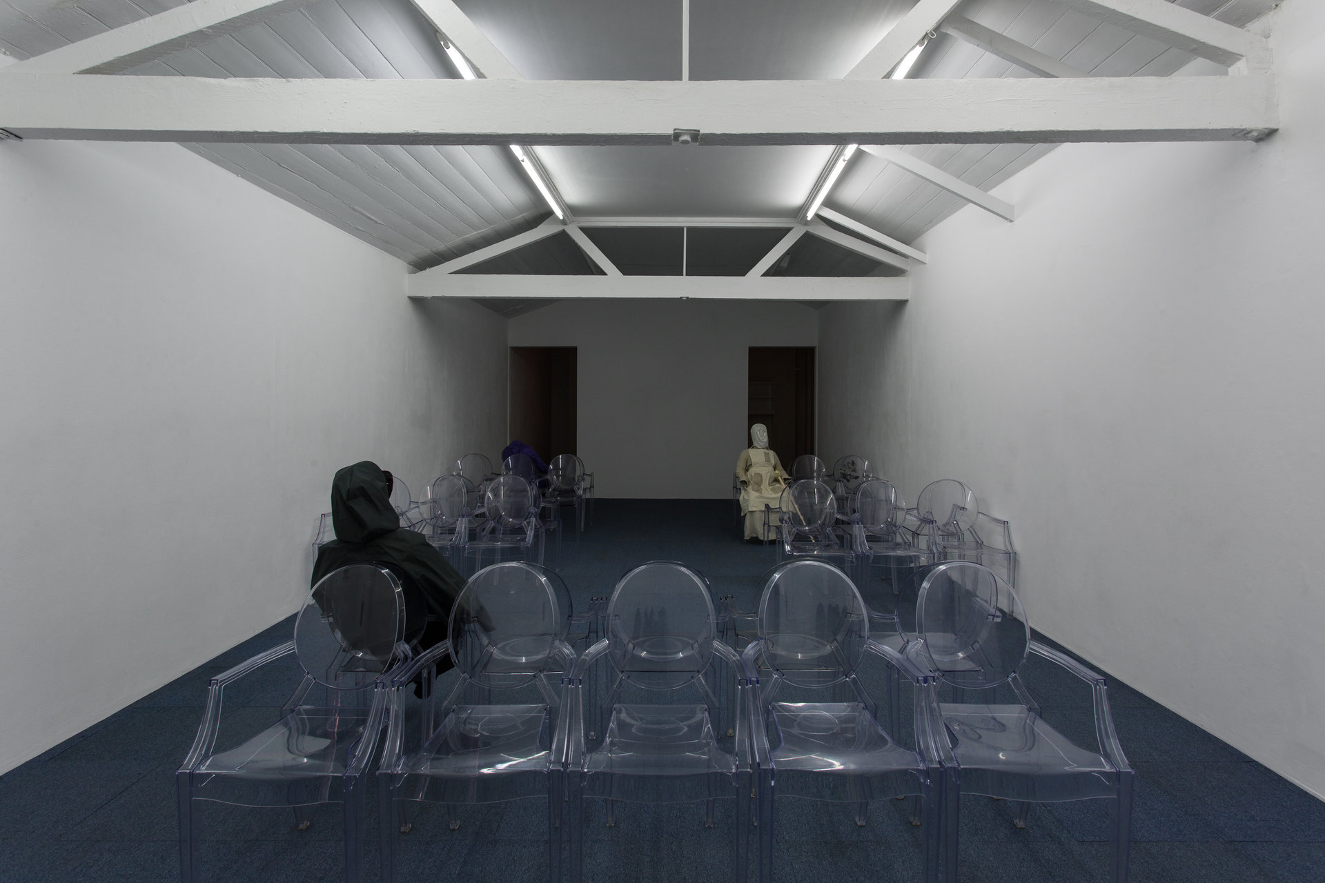 Angharad Williams and Mathis Gasser, installation view, Hergest:Nant, 2018, Cell Project Space