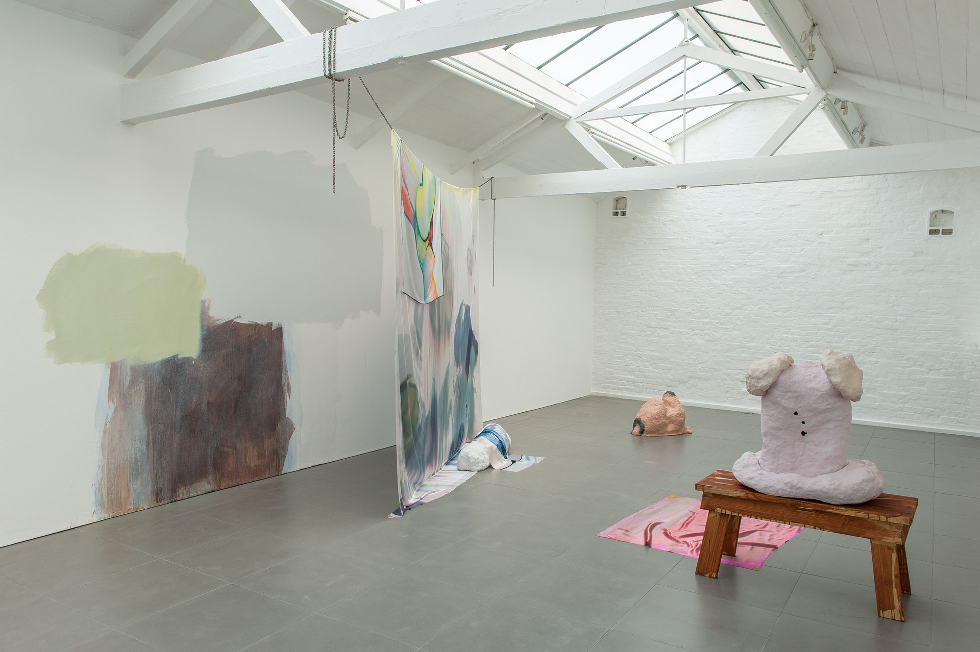 Pontoon Lip, 2014, installation overview, Cell Project Space