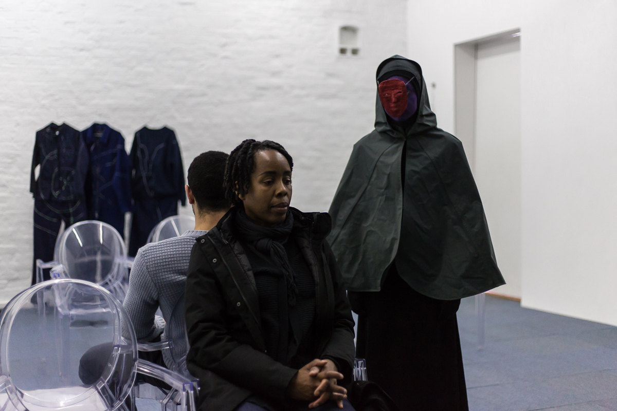 Angharad Williams and Mathis Gasser, performance, 2018, Hergest:Nant, Cell Project Space