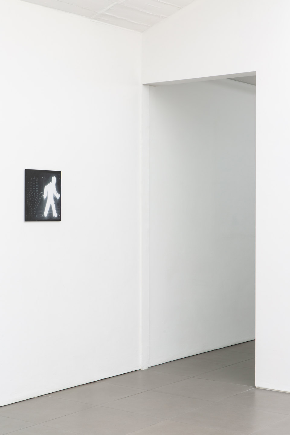 Sam Lipp, 'Walk', 2019, Oil on steel, 38 x 38cm, Civic Duty, 2019, Cell Project Space