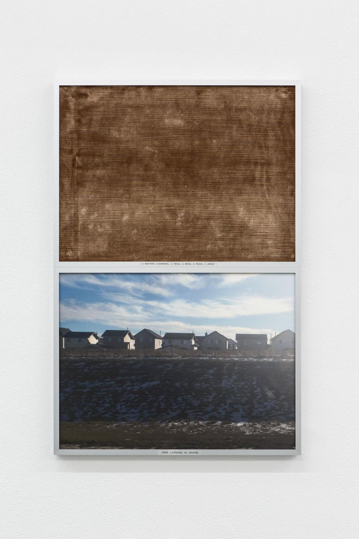 Rosa Aiello, 'Conditioning', 2019, Digital print, photo rag paper, acetate film, glue, upholstery fabric, aluminium frames 62.4 x 41.2cm, Cell Project Space