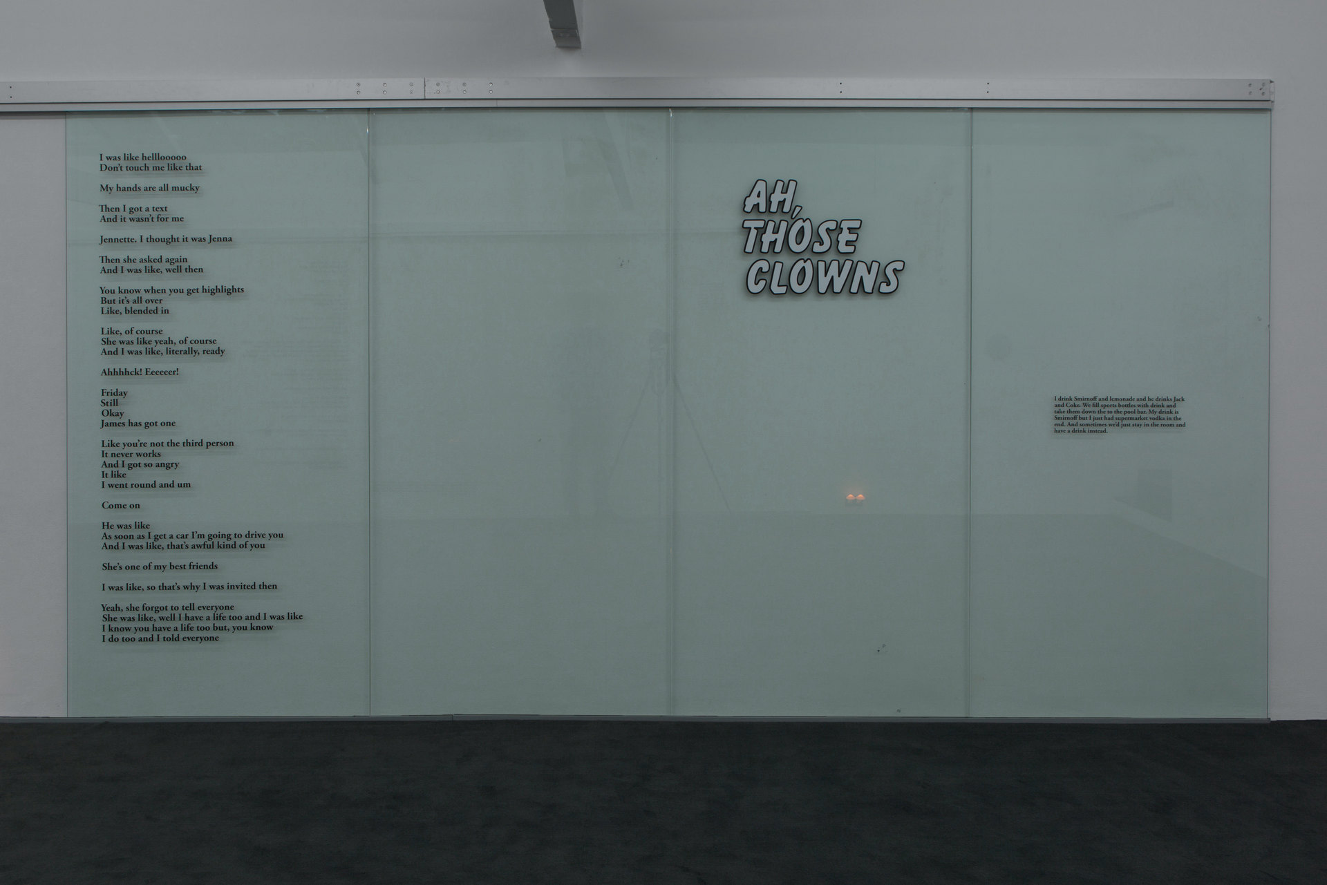 Vectors / Lovers Writs / Sticks / Ours and Mine, 2016, Ghislaine Leung, Cell Project Space