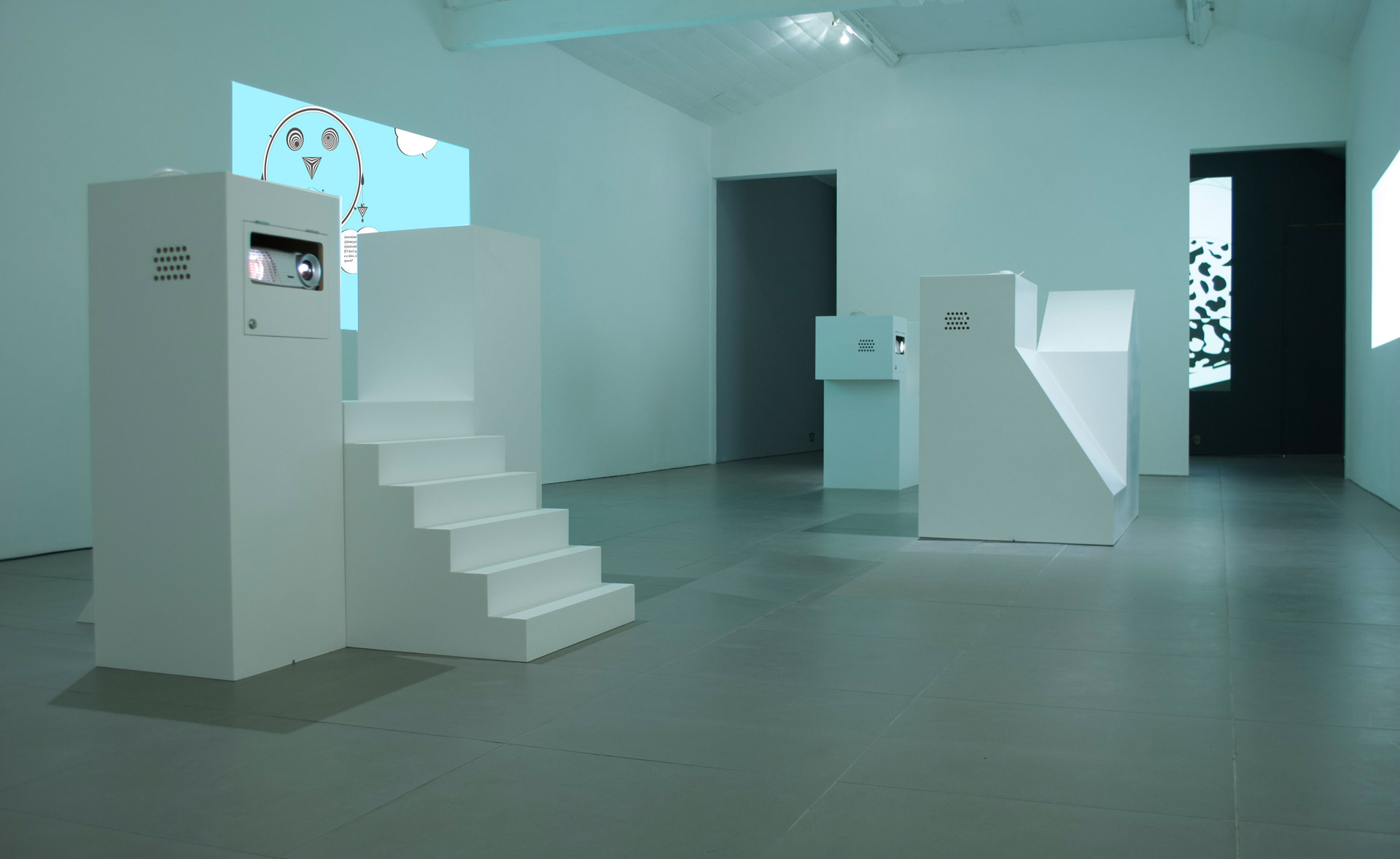 Angelo Plessas, Twilight Of The Idols, Every Website is a Monument, 2012, installation view, Cell Project Space