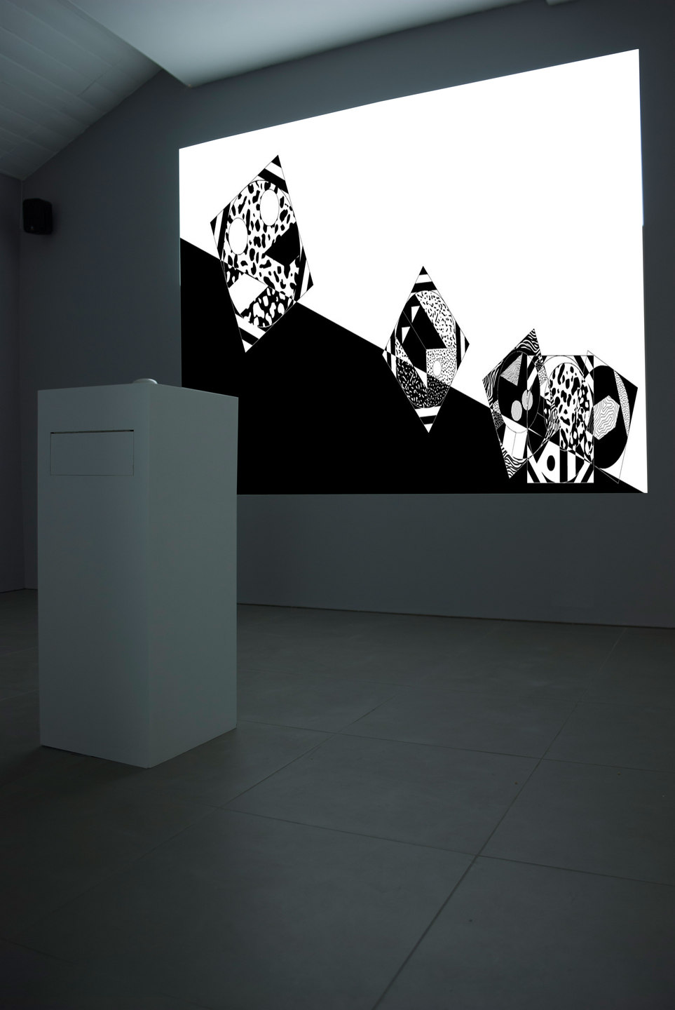 Angelo Plessas, Twilight Of The Idols, 'HorizonOfResemblance.com', 2012, mdf, digital projection, website http://horizonofresemblance.com, Cell Project Space
