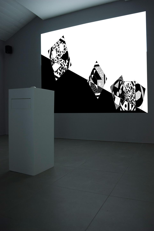 Angelo Plessas, Twilight Of The Idols, 'HorizonOfResemblance.com', 2012, mdf, digital projection, website http://horizonofresemblance.com, Cell Project Space