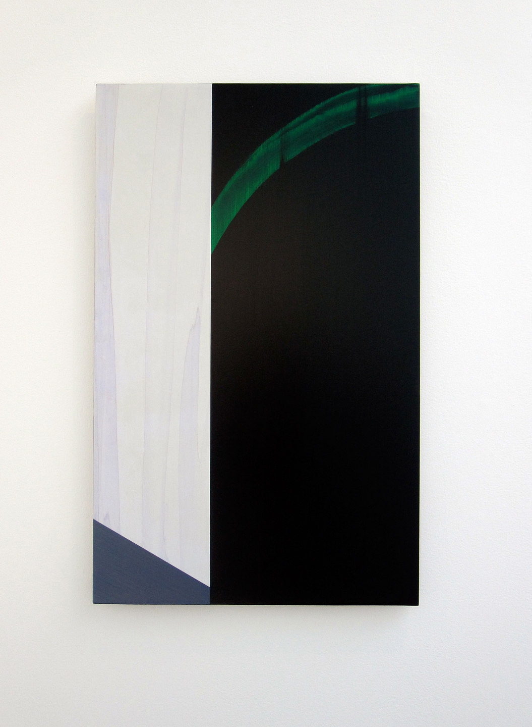 Andy Jackson, The Event, 2010, Acrylic and Metallic Acrylic on Board, (h.280mm x w.170mm), Cell Project Space
