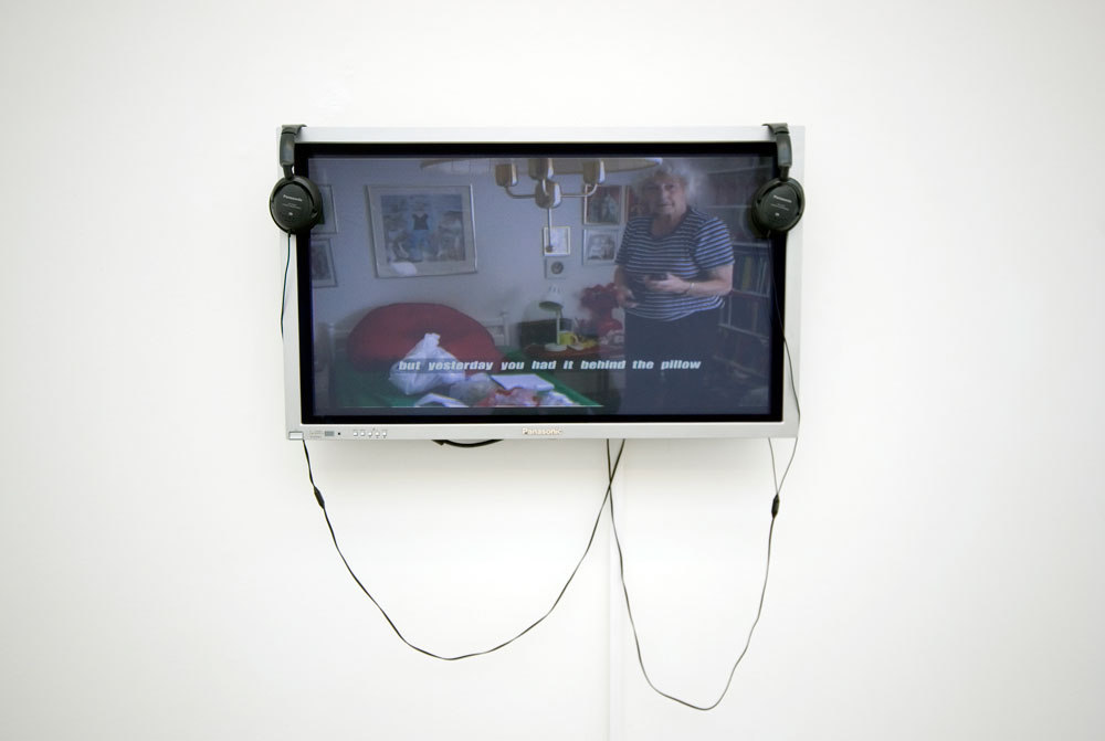 Annika Ström still 'Min Mobil/My Mobile', 2004, digital video 7 min 20