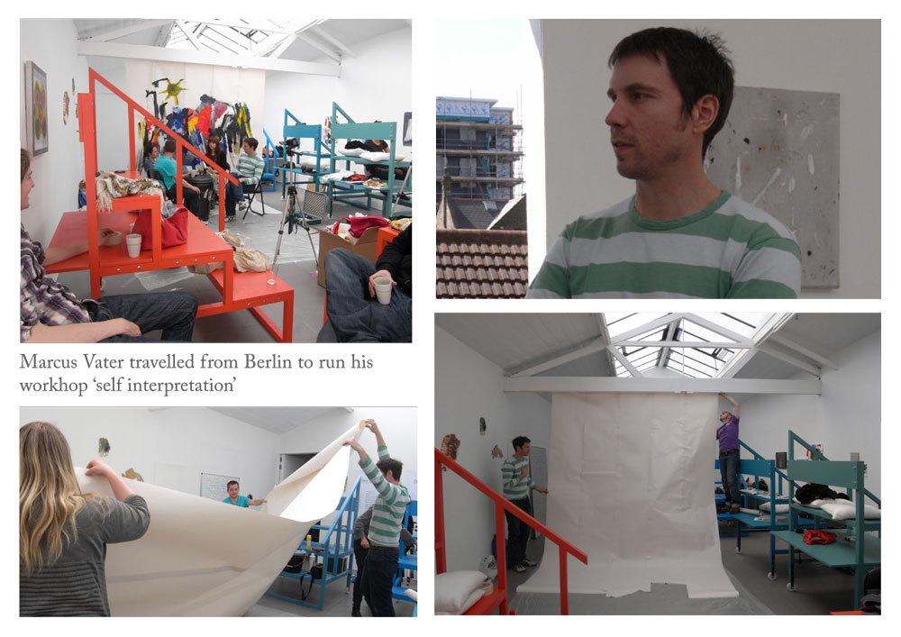 Markus Vater visits ARTSCHOOL/UK