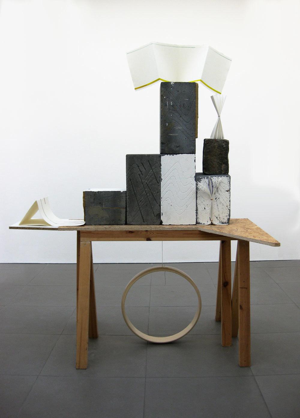 Aya Fukami, 'Emboss Bento', 2009, mixed media, (h.200cm x w.150cm x d.85cm)