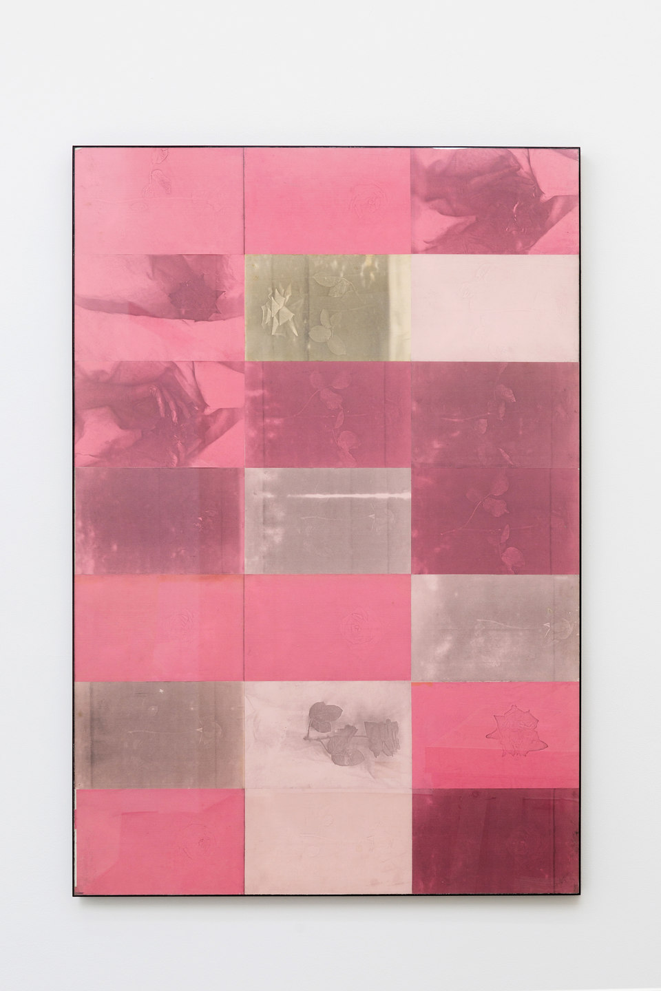 Barbara T Smith, Pink, 1965, Xerox prints, 150 x 100cm, Cell Project Space