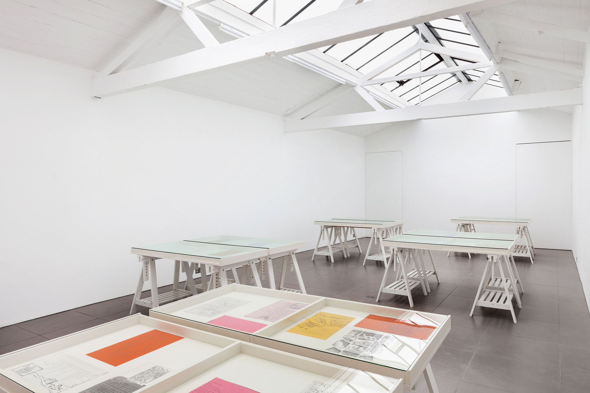 Barbara T Smith, The Poetry Sets, 1965-66,  Installation View, 2015, Cell Project Space
