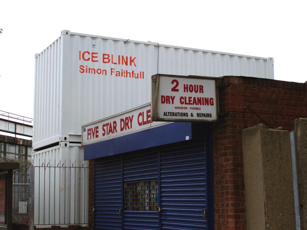 Simon Faithfull, ICE BLINK container
