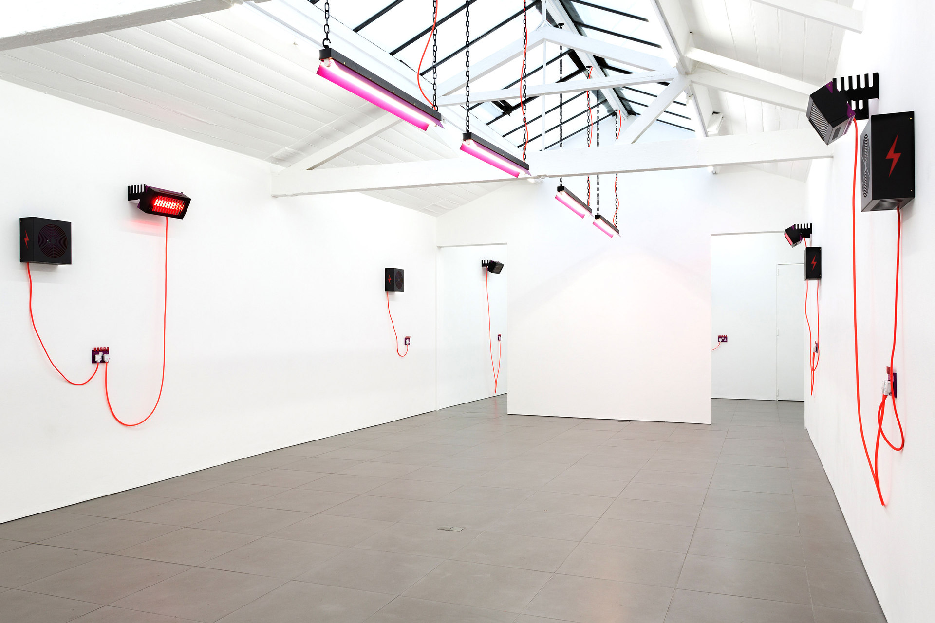 Natalie Dray, DRAY, 2015, installation view, Cell Project Space