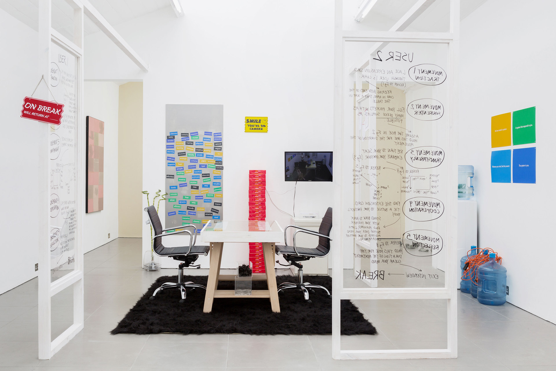 Essex Olivares, Office Riddim, 2013 - 2014, Performance Cell Project Space, 2015