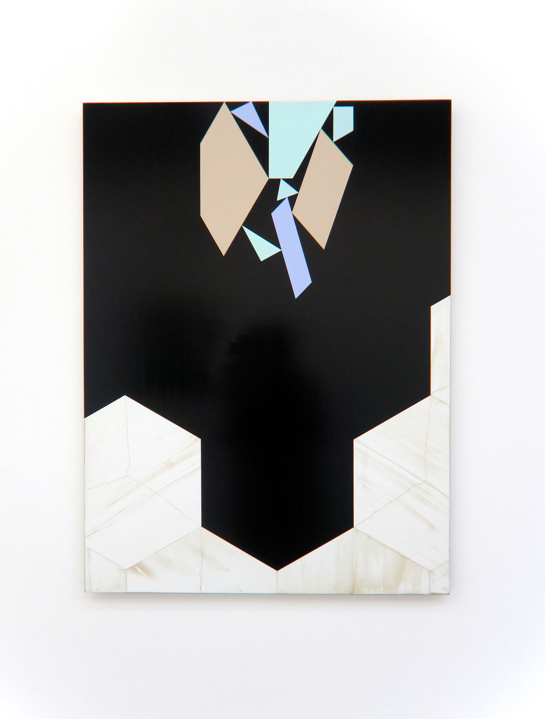 Andy Jackson, Set 5 (Magnetise), 2010, Acrylic and Metallic Acrylic on Board, (h.1155mm x w.835mm), Cell Project Space