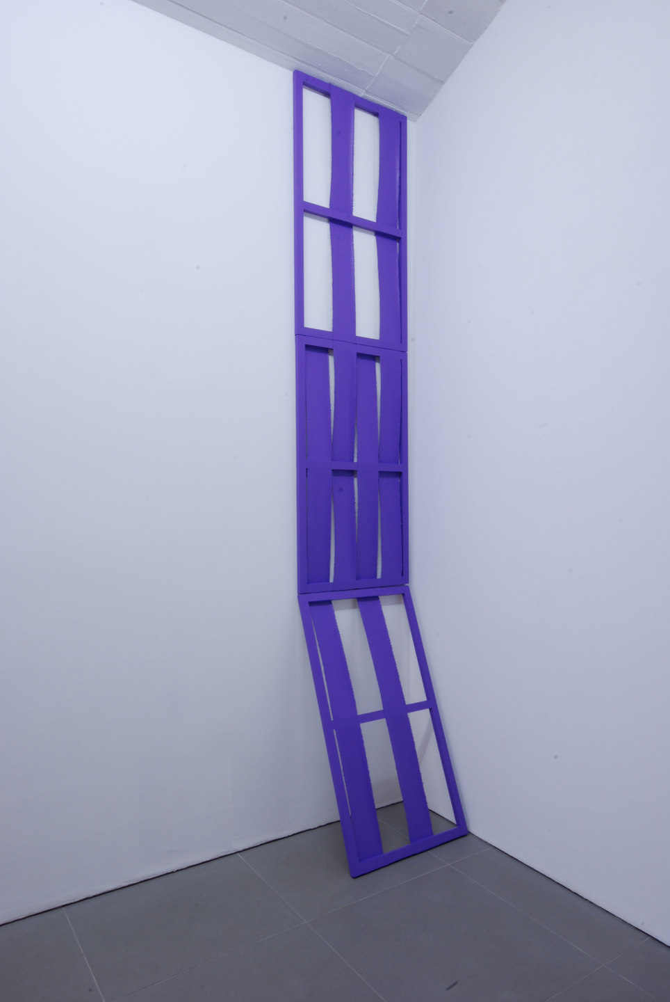 Jessica Warboys, Victory Park Tree Painting, 'Trunk', 2011, wood, canvas, acrylic, 283 x 56 x 36,5 cm, Cell Project Space