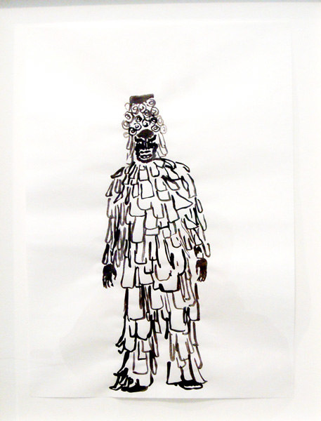 Jimmy Conway-Dyer, Untitled, 2007, Gouache, ink on paper, Cell Project Space