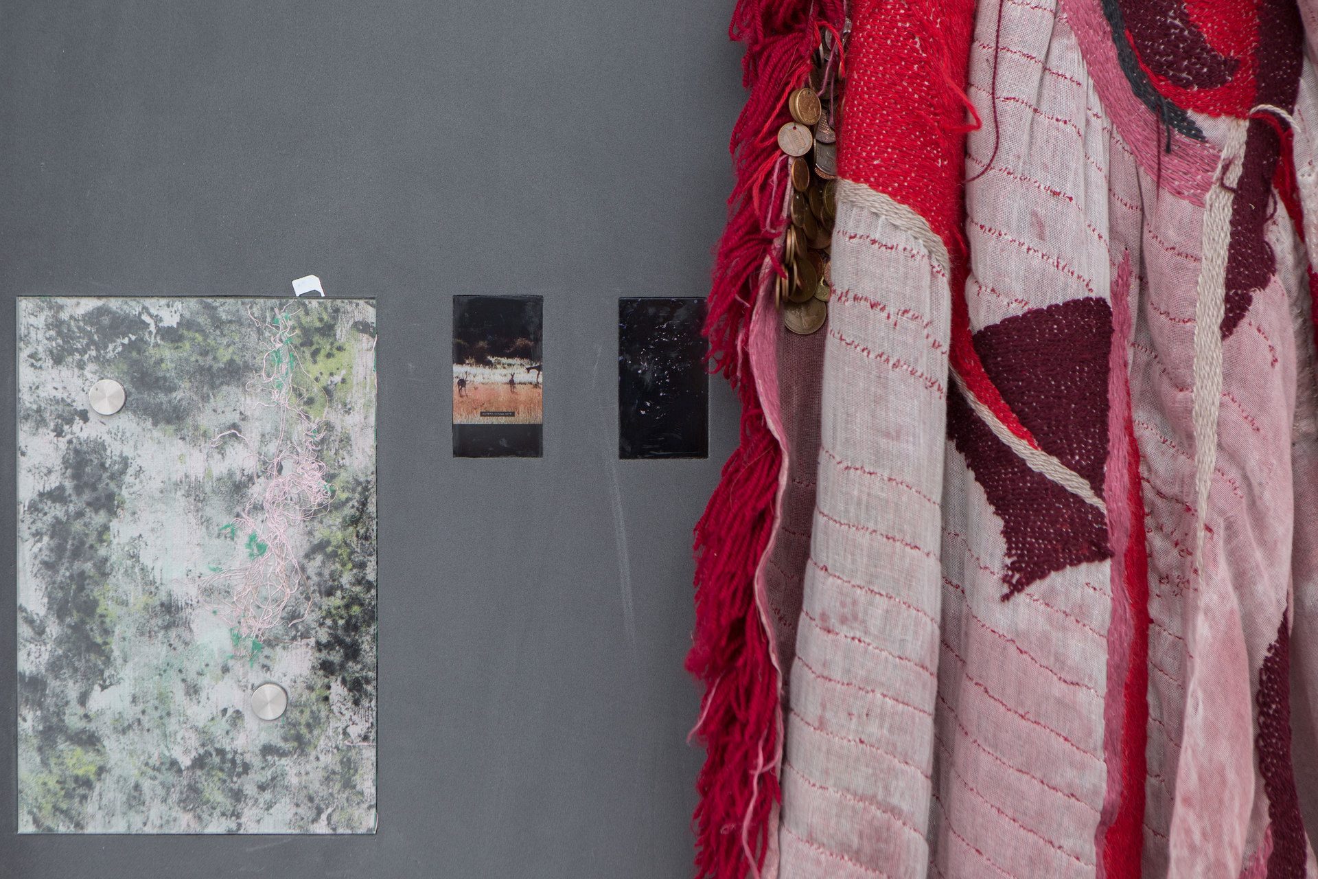 Kate Mackeson & Henrik Potter, 'landlords are not currently collecting rent in self-love', Henrik Potter, 2016 Detail, Cell Project Space