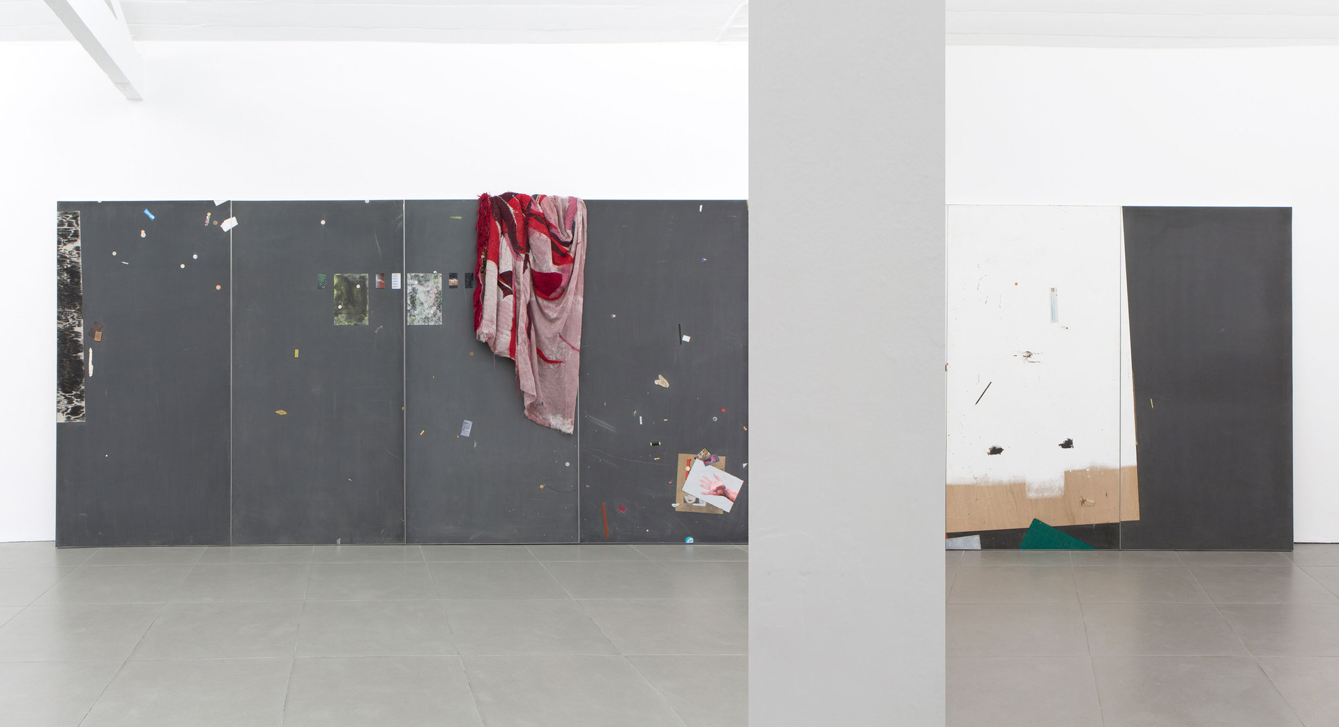 Kate Mackeson & Henrik Potter, 'landlords are not currently collecting rent in self-love', Henrik Potter Installation View, 2016, Cell Project Space