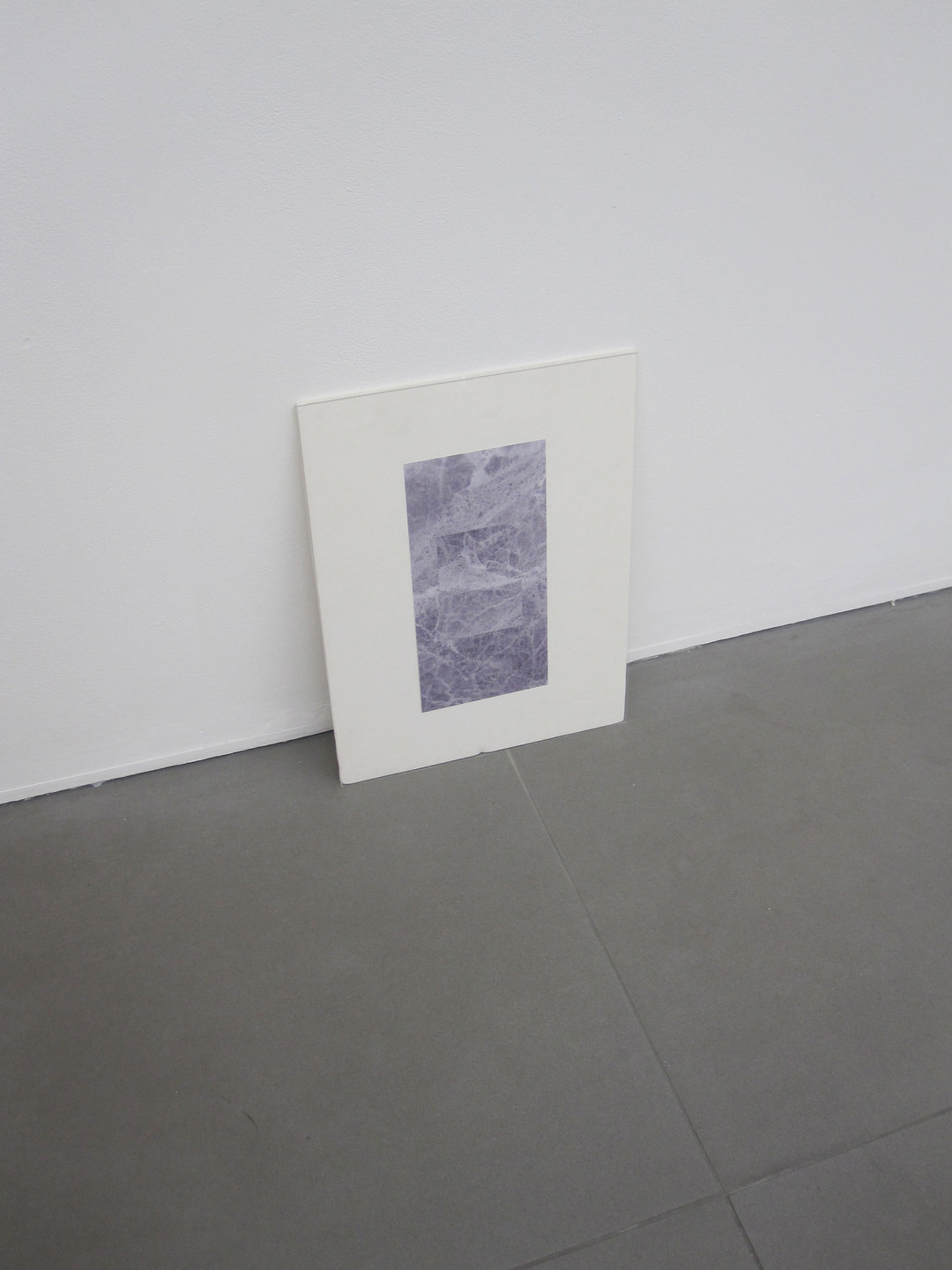 Maria Taniguchi, Untitled (Marble sketch)' 2010, inkjet print, acrylic sheet, foam board, (h.410mm x w.310mm), Cell Project Space