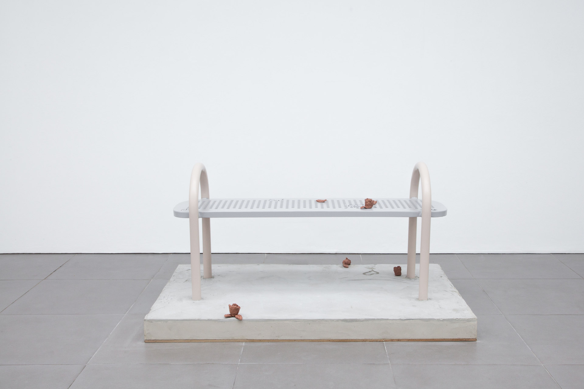 Pablo Jones-Soler, Benches, 2015, mixed media, 150 x 90 x 76 cm, Cell Project Space