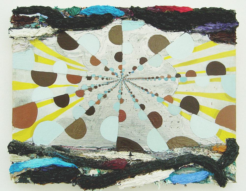 Phillip Allen 'LOVEJOYUIAN' (original version), 2007, oil on board