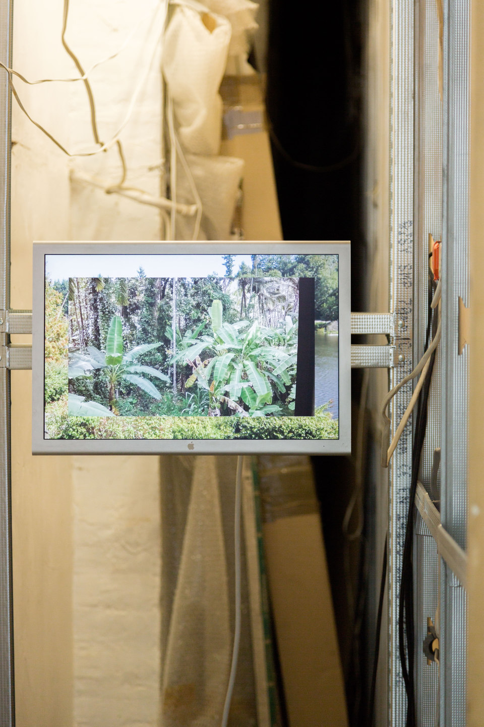 Yuri Pattison, Free Traveller, 'outsourced views, visual economies', 2013-ongoing (rear gallery), Cell Project Space