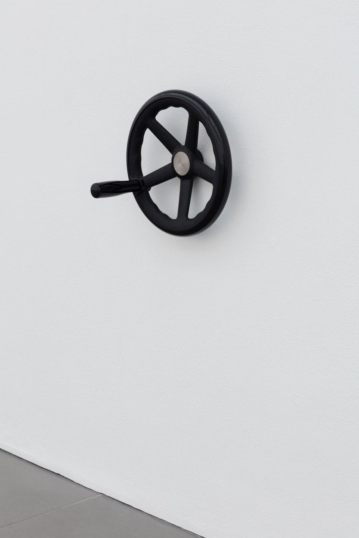 Aude Pariset, GREENHOUSES, 'Petite SUV I', Plastic, cast iron, 25⌀ x 16.6cm, 2016, Cell Project Space