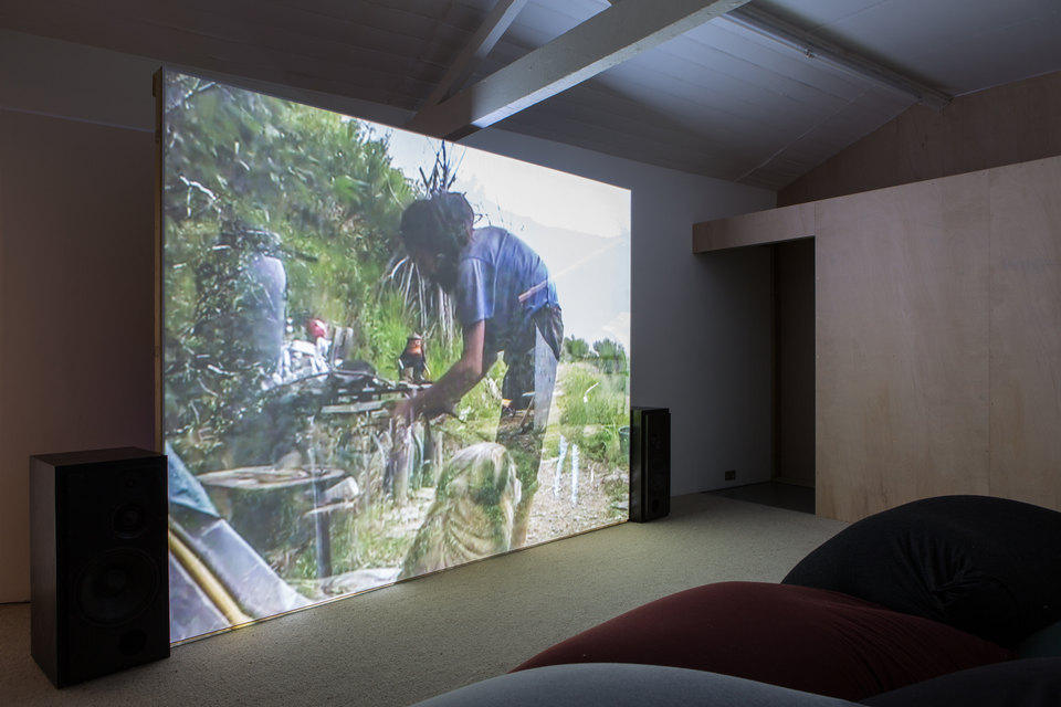 Mimosa Echard, The People, 2017, Mini DV transferred to digital, Cell Project Space