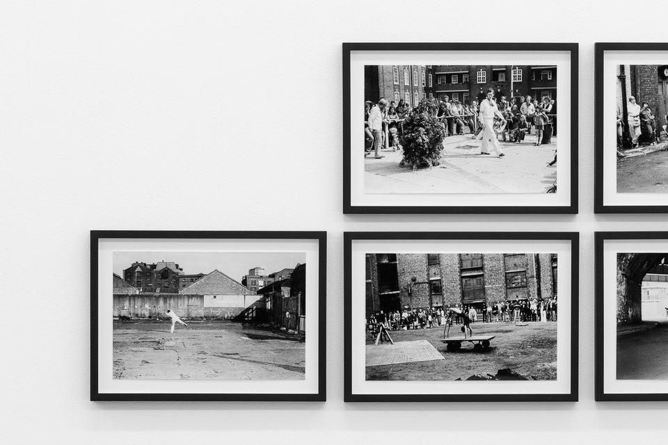 By River and Wharf, 1976, Framed c-prints, photographs by Geoff White 35.5cm x 26cm, X6 Dance Space (1976-80): Liberation Notes, 2020, Cell Project Space