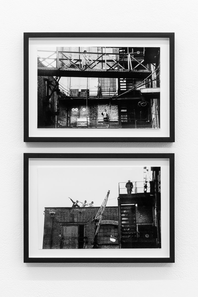 'Splendid Dance', 1978, Emily Barney, Kirstie Simson, Sue MacLennan and others, X6 Dance Space, Framed c-print, photograph by Geoff White, 35.5cm x 26cm, X6 Dance Space (1976-80): Liberation Notes, 2020, Cell Project Space