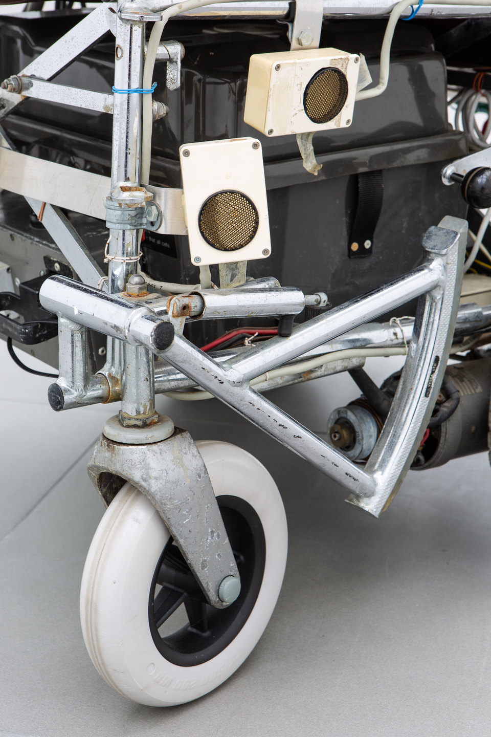 Donald Rodney, 'Psalms' [detail], 1997, Wheelchair, computer, proximity sensors, 95 x 65 x 70cm, Civic Duty, 2019, Cell Project Space