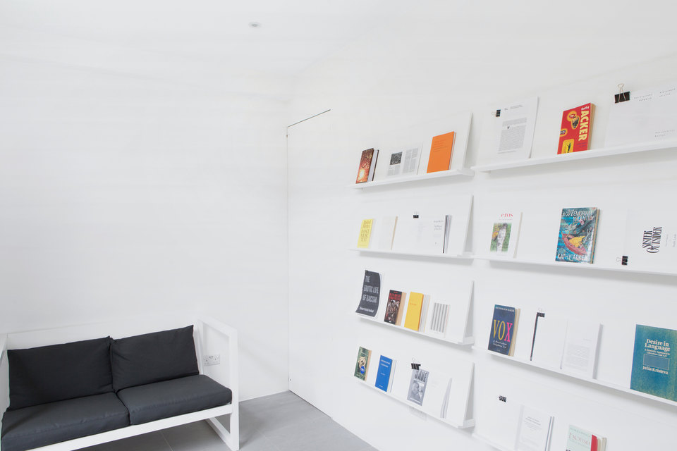 Perverts, Reading Room (installation View), 2017, Cell Project Space