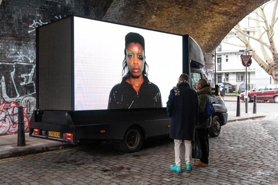 Nevermind (Screen Test 1), 2020, Under the Railway Arch, West Street, London, E2 9NQ