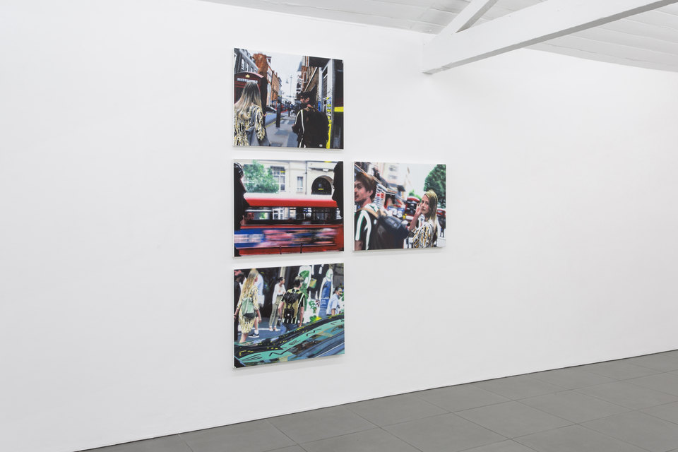 Astrology in the city, Installation View, 2018, Alan Michael, Cell Project Space.